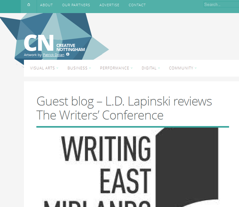 Guest Blogging for Creative Nottingham