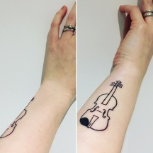 I Got Two Tattoos This Year One At The Start And End Of 2017 Love Them Both So Much Were Done Vagabond In Hackney